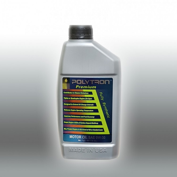POLYTRON Full Synthetic Motor Oil SAE 0W30 - Oil Change Interval 50.000 km