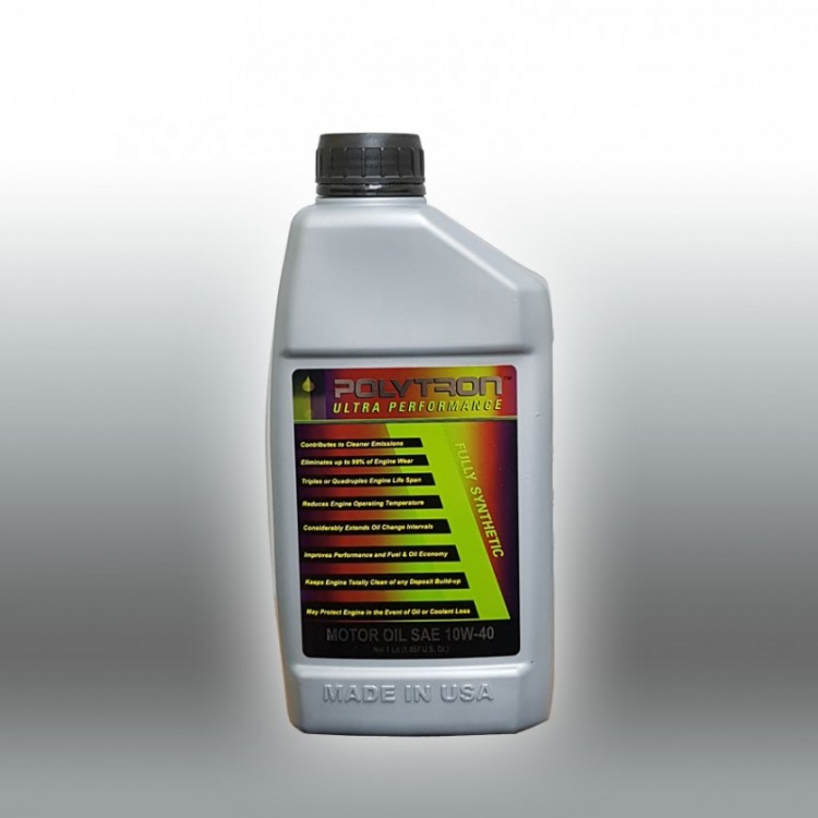 POLYTRON Full Synthetic Motor Oil SAE 10W40 - Oil Change Interval 50.000 km