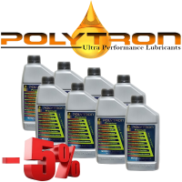 Promo 71 - POLYTRON Full Synthetic Motor Oil SAE 5W30 - Oil Change Interval 50.000 km - 8x1L