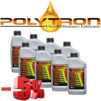 Promo 99 - POLYTRON Full Synthetic Motor Oil SAE 10W40 - Oil Change Interval 50.000 km - 8x1L