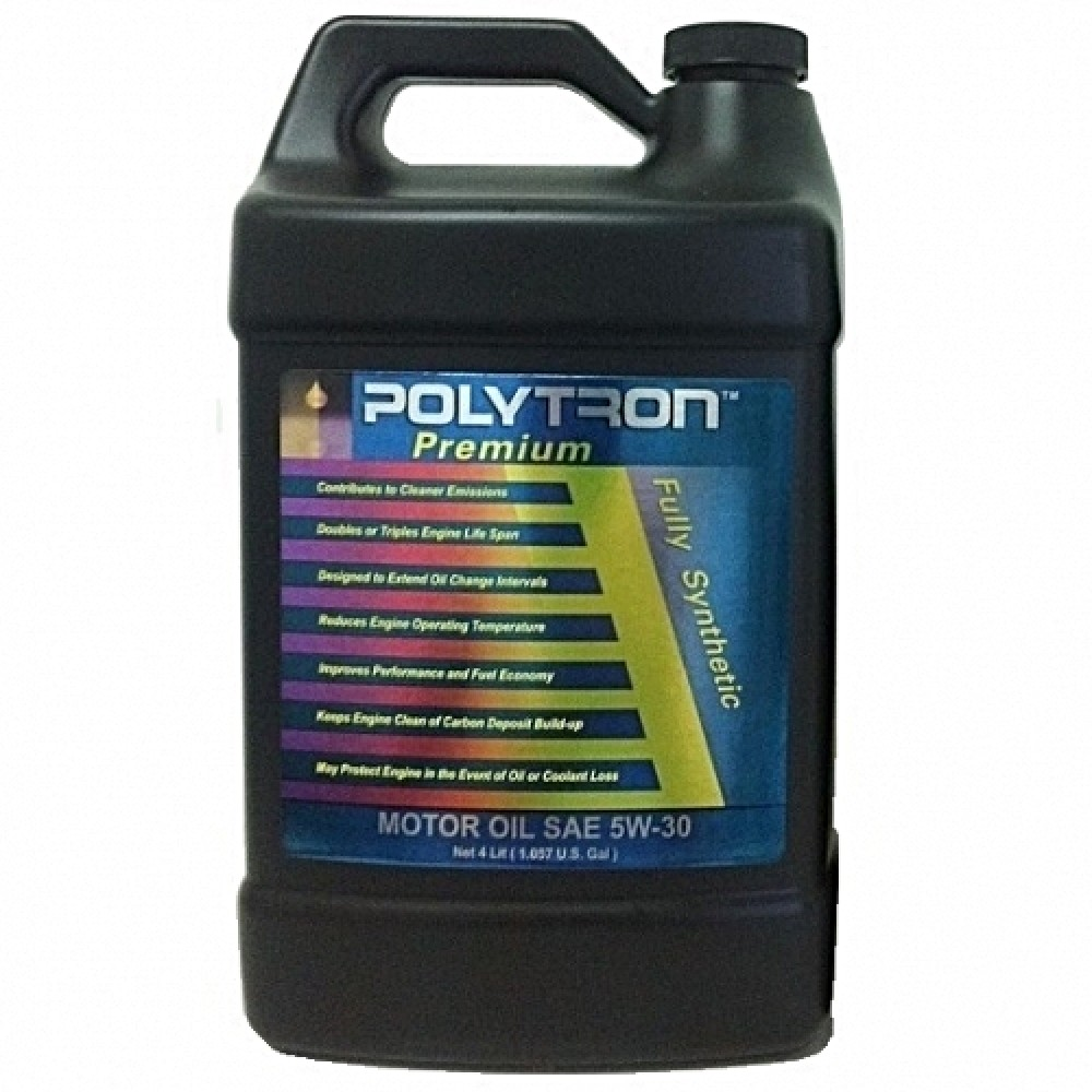 Full synthetic motor oil polytron sae 5w30 for 5 30 motor oil