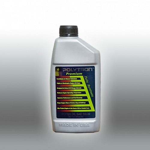 POLYTRON Full Synthetic Motor Oil SAE 5W30 - Oil Change Interval 50.000 km