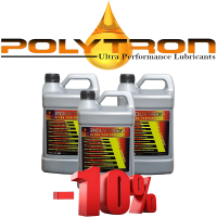 Promo 95 - POLYTRON Full Synthetic Motor Oil SAE 10W40 - Oil Change Interval 50.000 km - 3x4L
