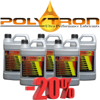 Promo 97 - POLYTRON Full Synthetic Motor Oil SAE 10W40 - Oil Change Interval 50.000 km - 5x4L
