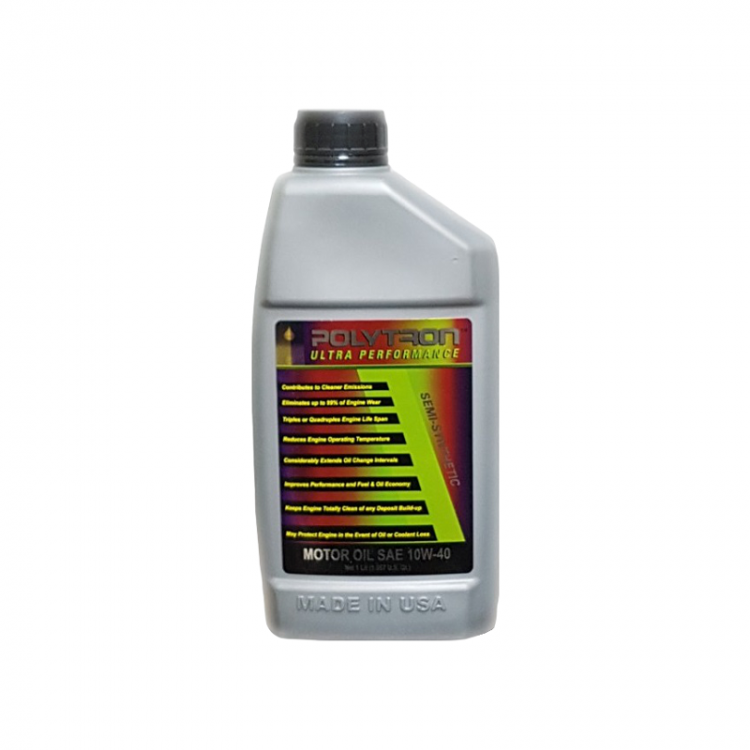 POLYTRON Semi Synthetic Motor Oil SAE 10W40 - Oil Change Interval 25.000 km