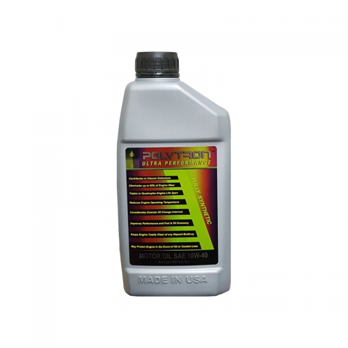 POLYTRON Full Synthetic Motor Oil SAE 10W40 - Oil Change Interval 50.000 km