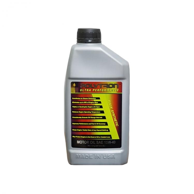 POLYTRON Full Synthetic Motor Oil SAE 15W40 - Oil Change Interval 50.000 km