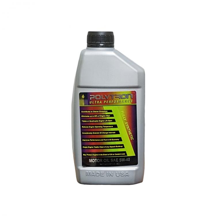 POLYTRON Full Synthetic Motor Oil SAE 5W40 - Oil Change Interval 50.000 km