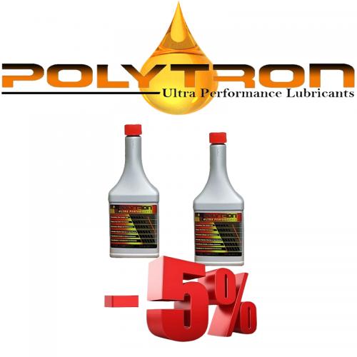 Promo 13 - POLYTRON GDFC - Gasoline-Diesel Fuel Conditioner - 2x355ml.