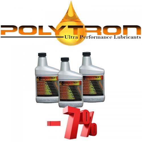 Promo 2 - POLYTRON MTC metal treatment concentrate (Oil Additive) - 3x473ml.