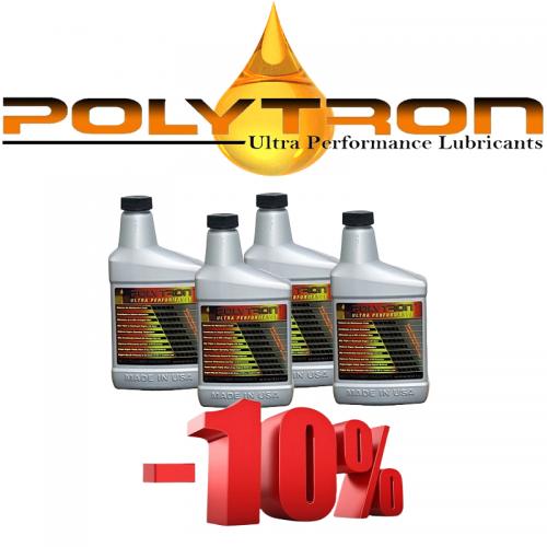 Promo 3 - POLYTRON MTC metal treatment concentrate (Oil Additive) - 4x473ml.