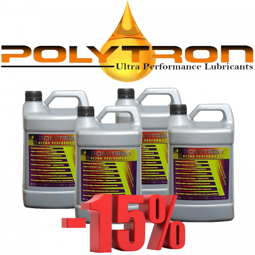 Promo 10 - POLYTRON MTC metal treatment concentrate (Oil Additive) - 4x4L