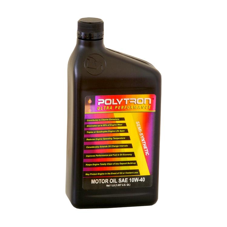Semi Synthetic Motor Oil Polytron Sae 10w40